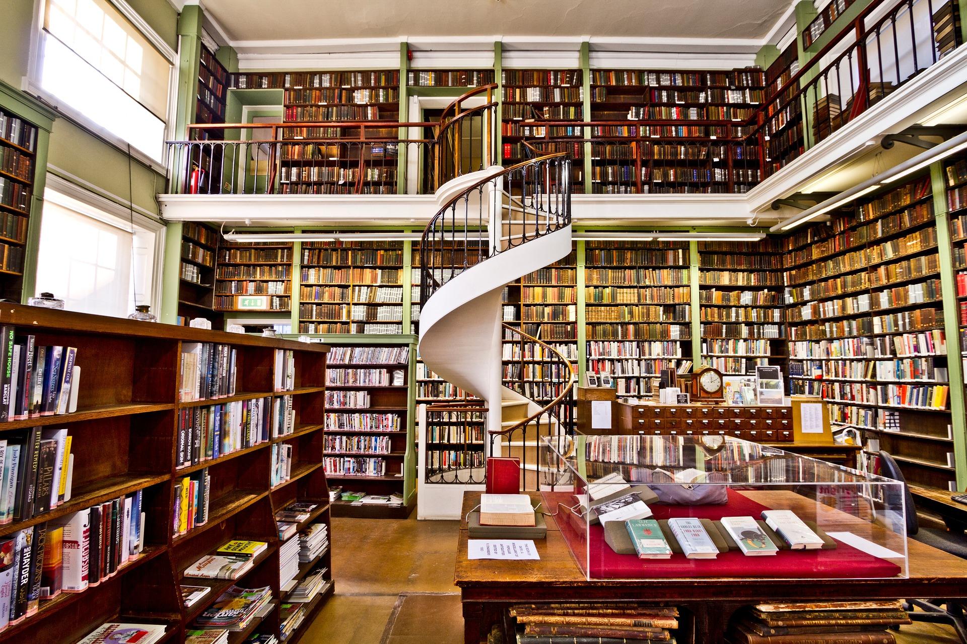 Endspurt: Buchhandlungen besuchen