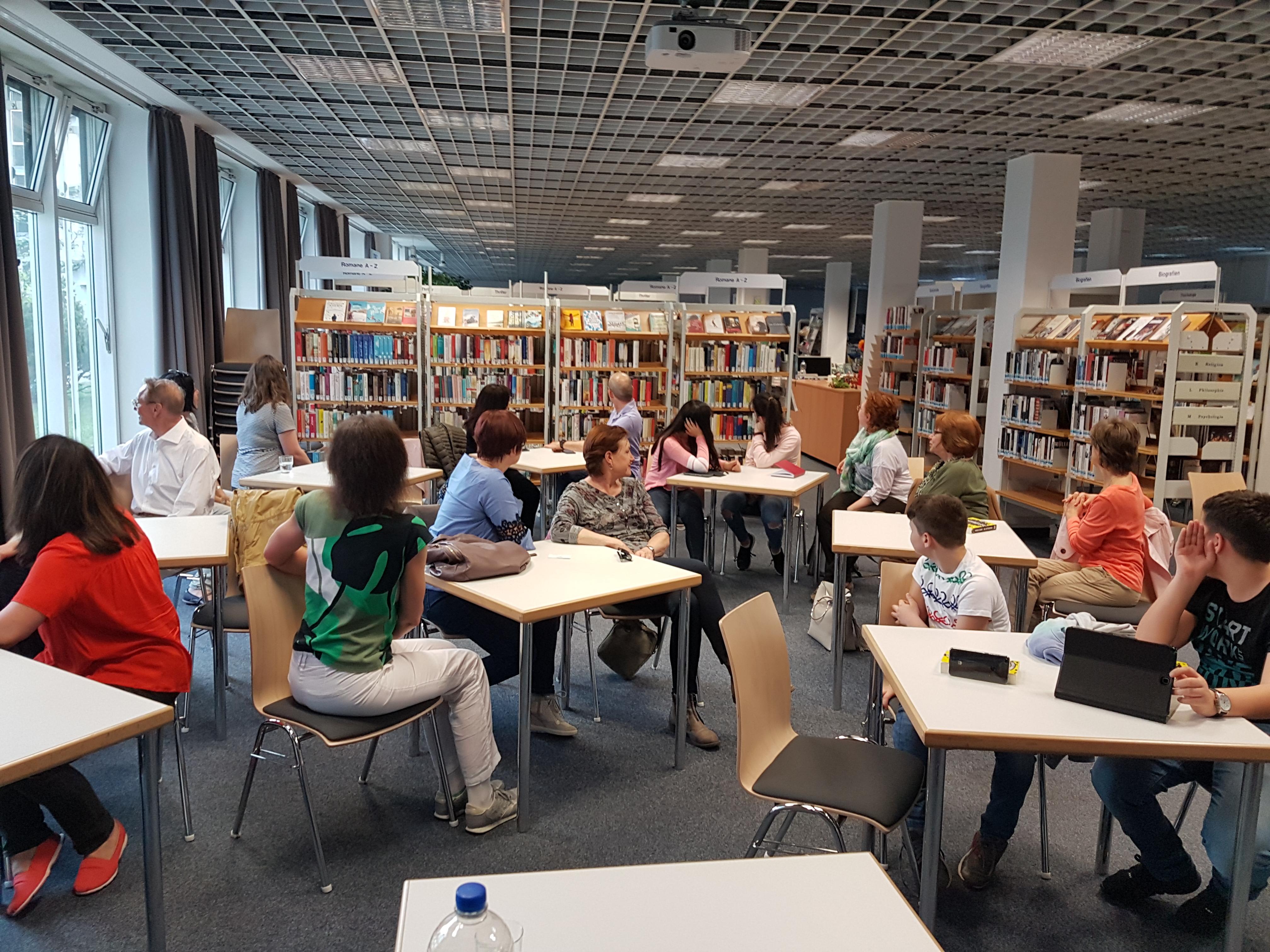 Lesung in der Stadtbibliothek München-Fürstenried