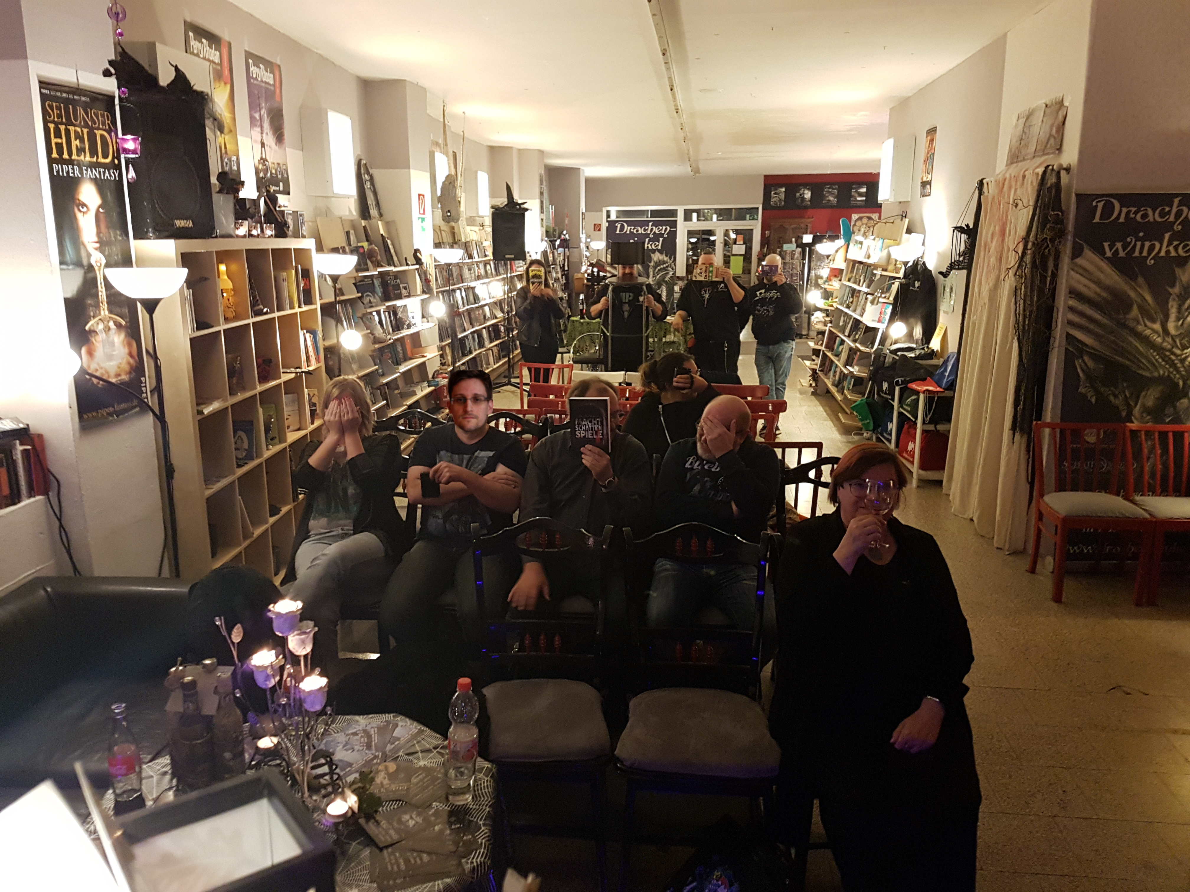 Lesung im Drachenwinkel in Dillingen