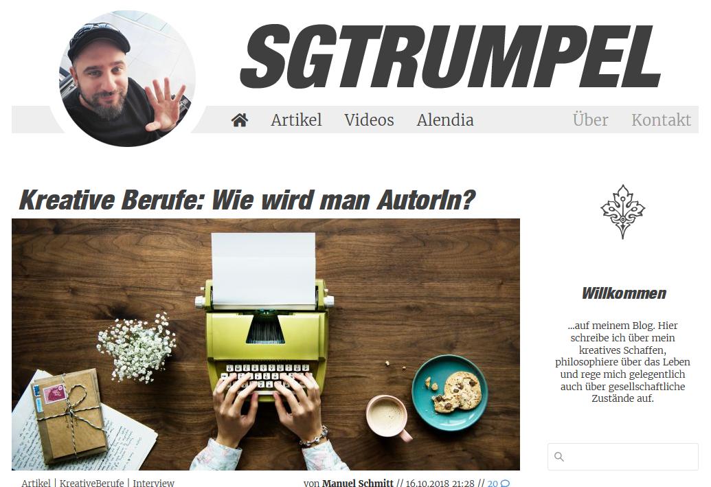 Interview mit Manuel Schmitt aka SgtRumpel