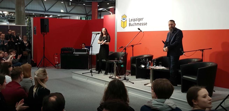 Rede von Natalja Schmidt zur Seraph 2019 Preisverleihung
