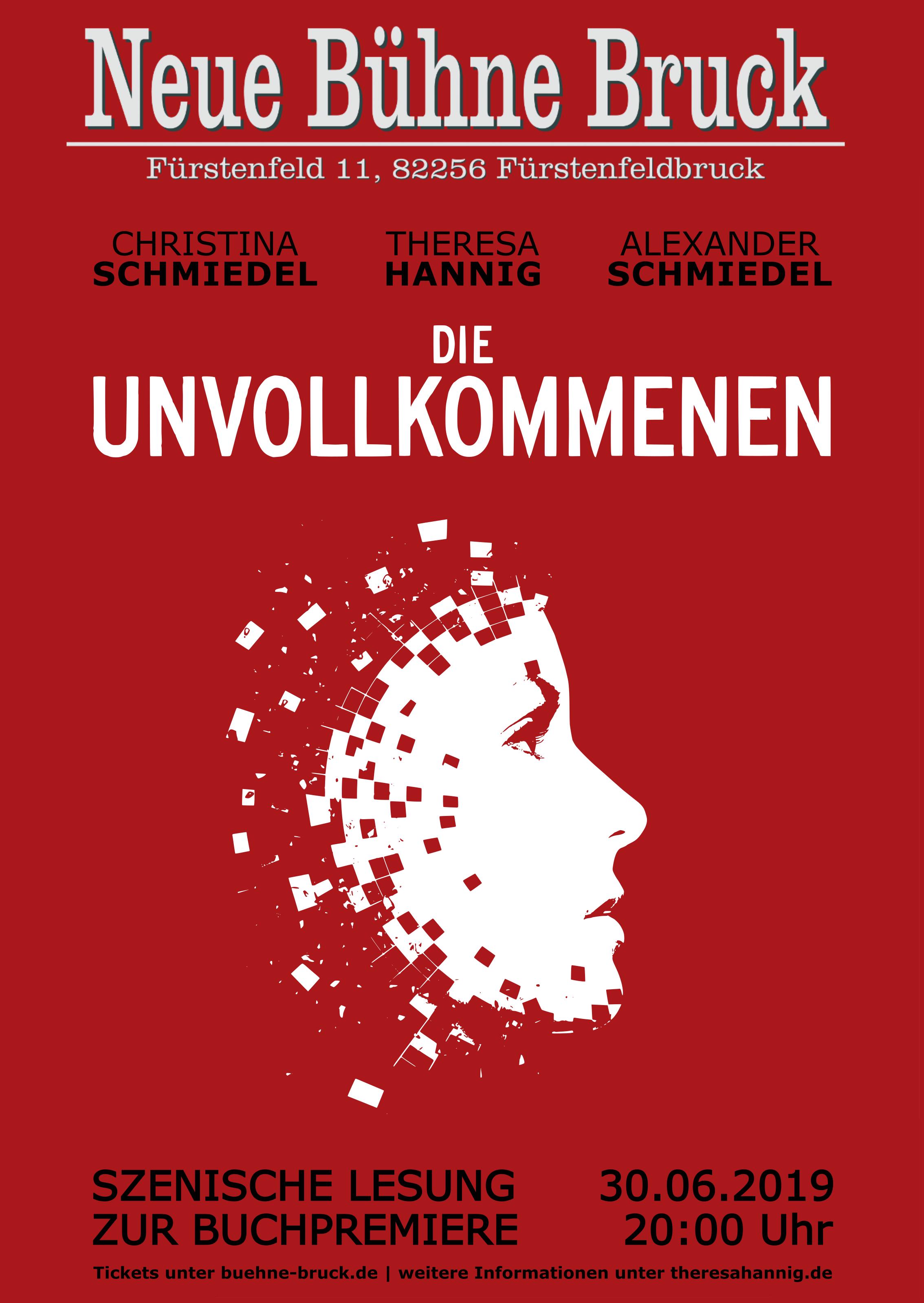 """Szenische Lesung zur Buchpremiere von """"Die Unvollkommenen"""" – Jetzt Tickets sichern!"""