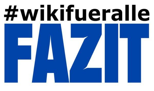 Wikifueralle – ein Fazit