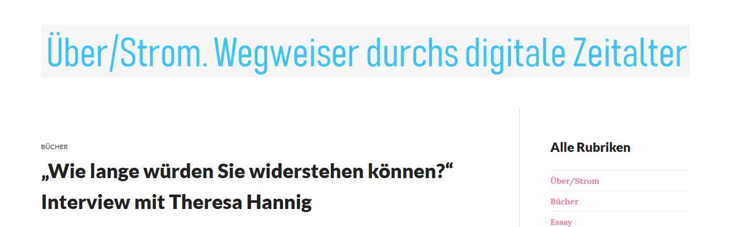 Interview mit Mario Donick von Über/Strom