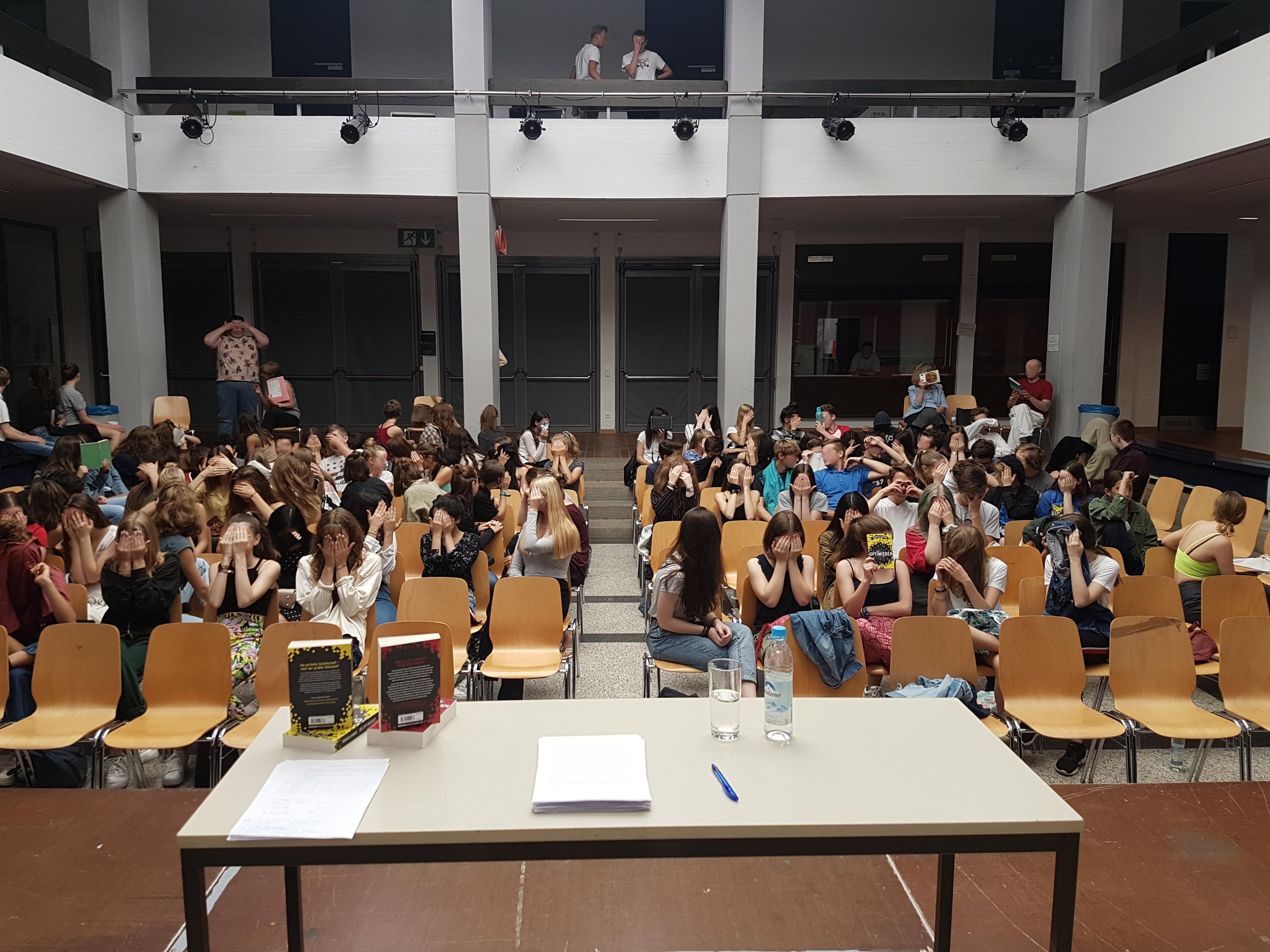 Lesung im Dante-Gymnasium 2019