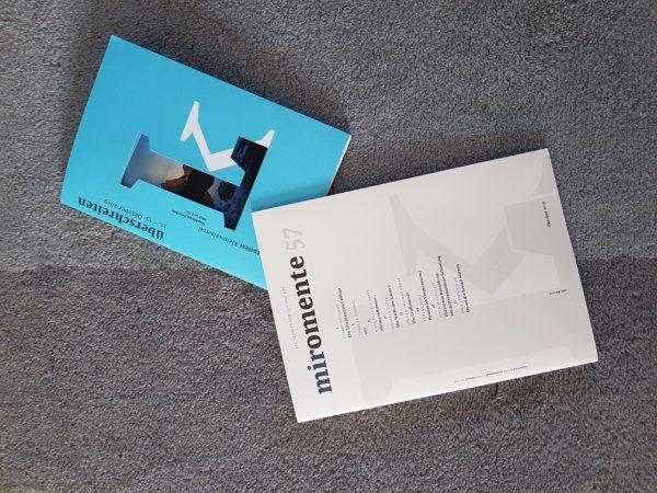 """Kurzgeschichte """"EVI"""" in der miromente 57"""