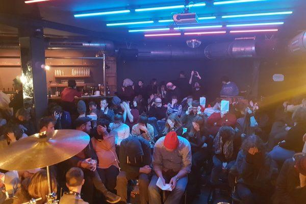 Lesung mit Musik und Diskussion im ACUD