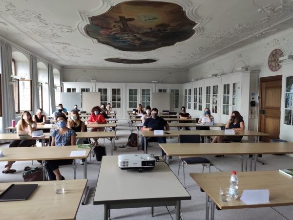 """Lesung meines Romans """"Die Optimierer"""" bei der Lehrerfortbildung in Dillingen"""